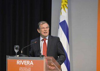 Richard Sander, intendente de Rivera