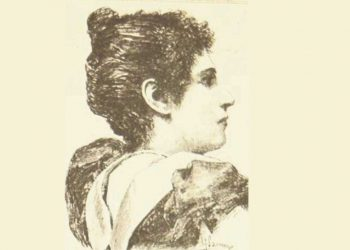 Lola Millanes, vista por Sanuy. Montevideo Cómico Nº2, 26/08/1894